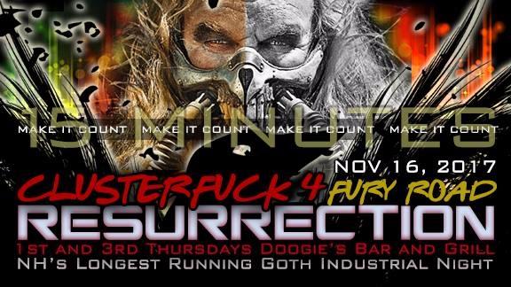 Tonight Resurrection: ClusterF - deftlyd | ello