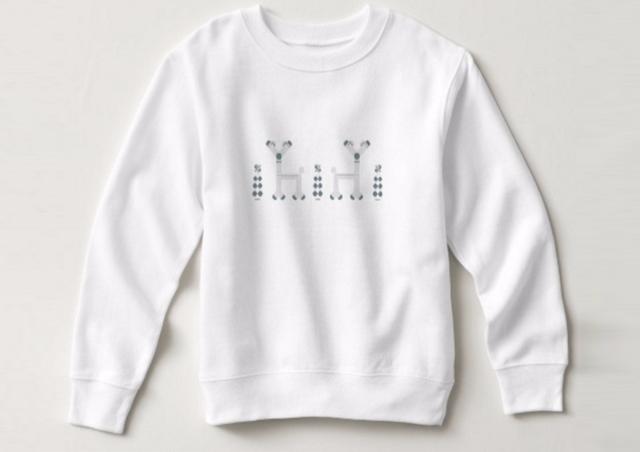 Reindeers Blue sweatshirt desig - grabatdot | ello
