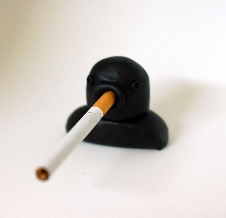 Black Lung Polymer clay acrylic - bascofive | ello