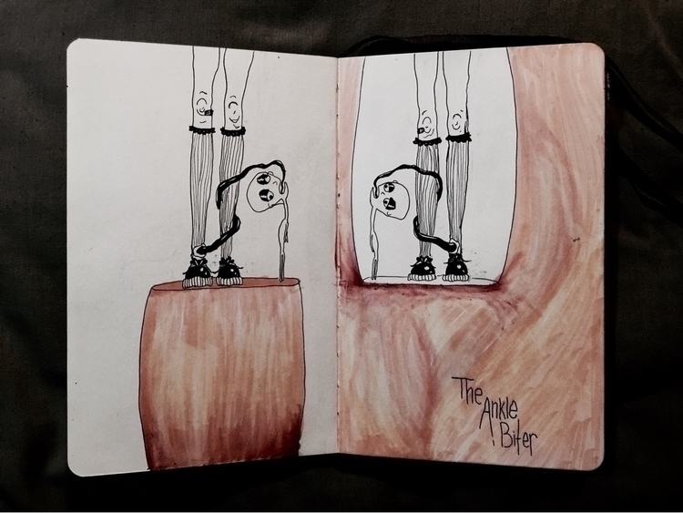 ankle biter - mori_illustration   ello