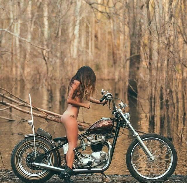 brunette, naked, nude, chopper - ukimalefu | ello