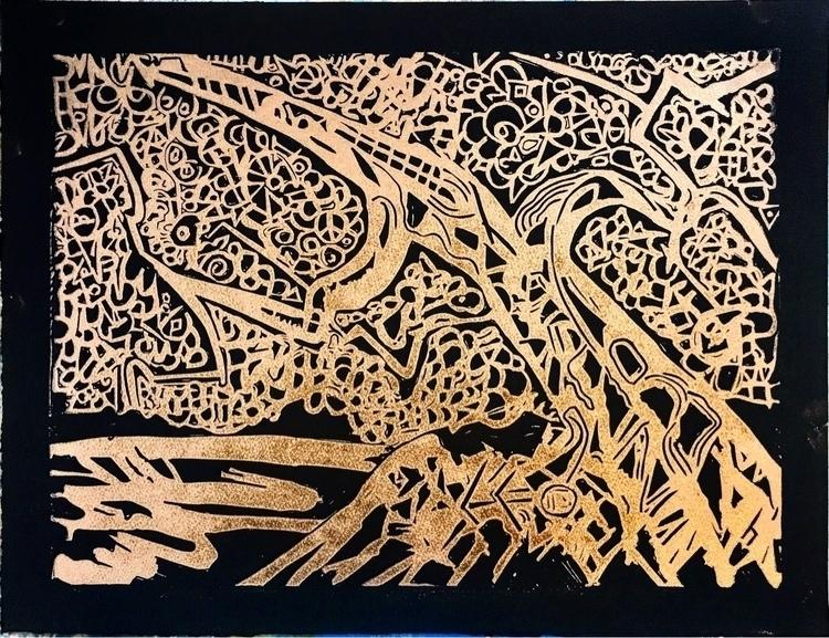 Part 3 gold series prints. tree - rostislavromanov | ello