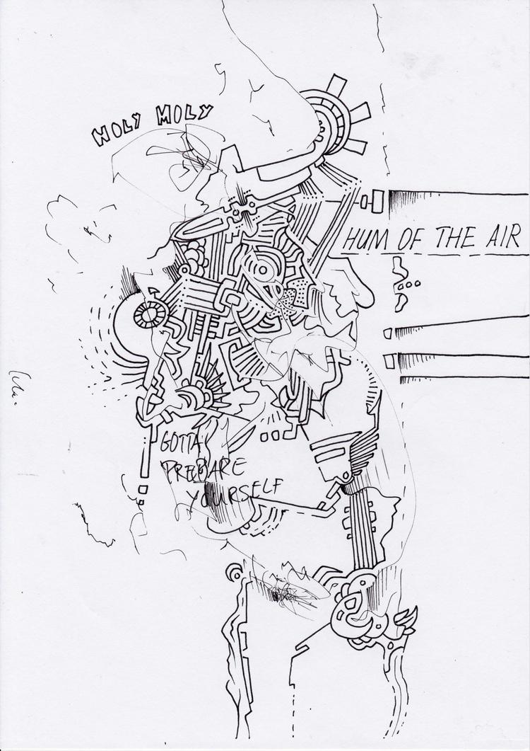Inktober, automatic drawing. fi - bodhikah | ello