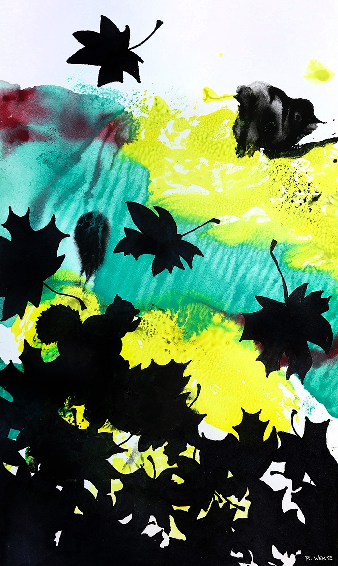 Instinct Season ink paper - watercolor - robert_wente | ello