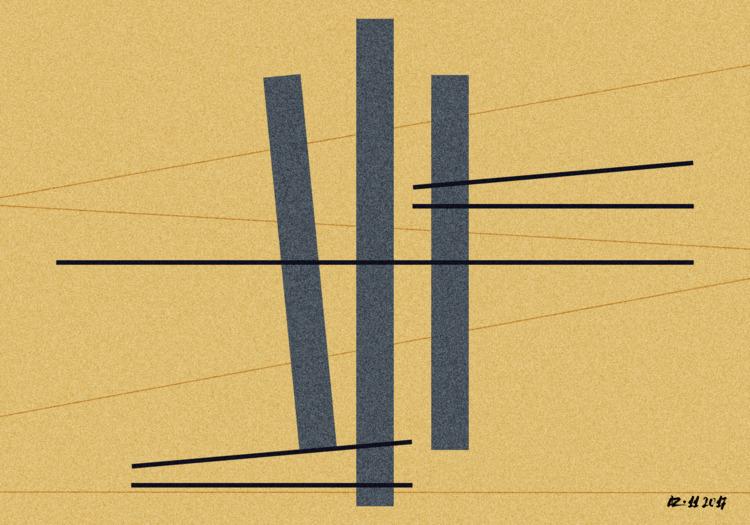 composition-25 - art, contemporary - gfgalli | ello