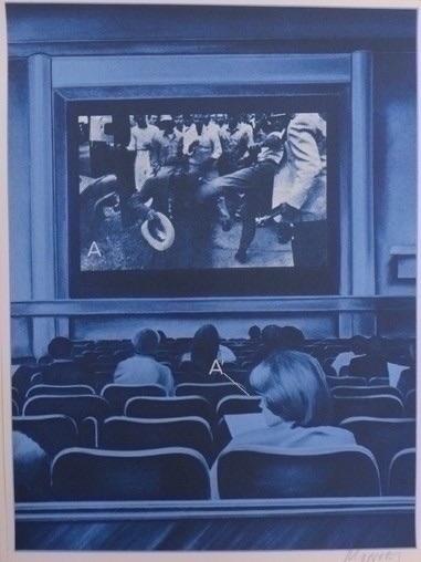 Jacques Monory 'USA 76 movies'  - karinechaneyin | ello