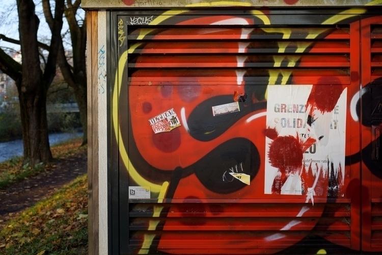 Ultras - photography, graffiti, typography - marcushammerschmitt | ello