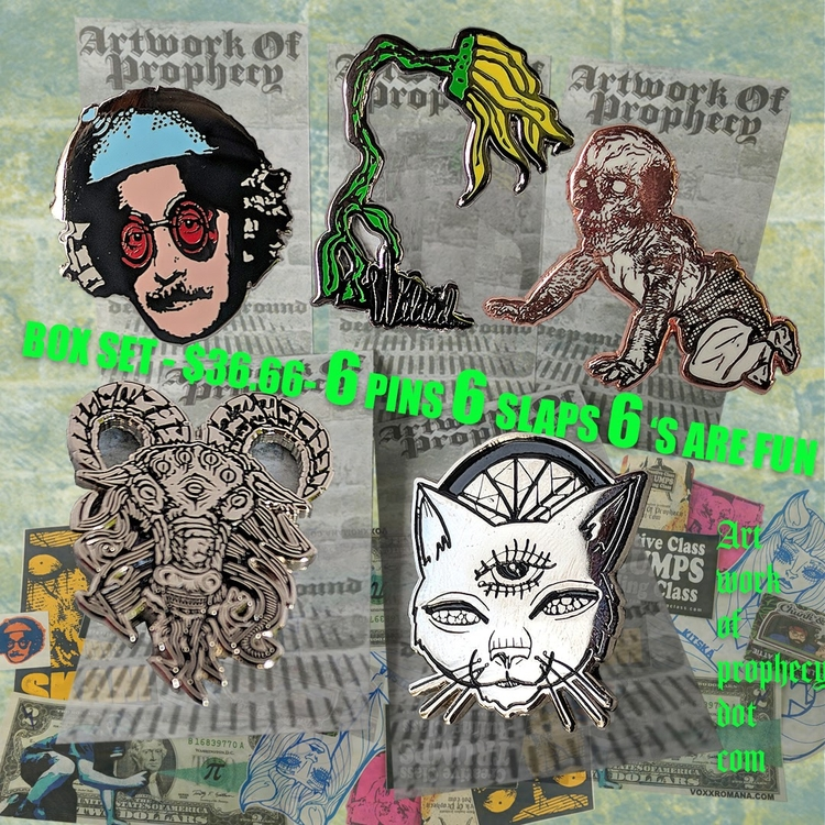 sale artworkofprophecy.com box  - voxxromana | ello