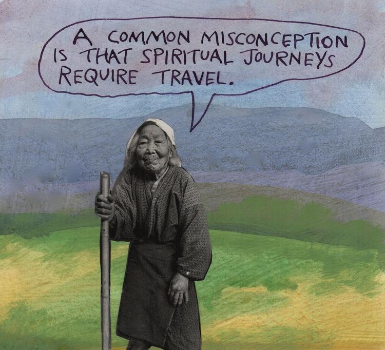 spiritual traveling home - stoicmike | ello