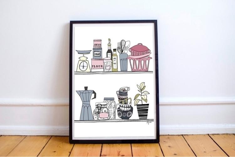 Cooking poster Rocio Vigne - art - rociovigne | ello