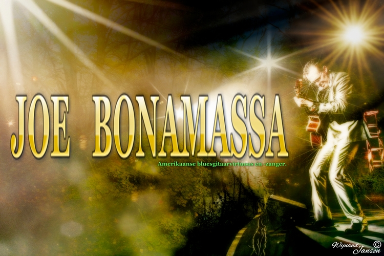 heroes Joe Bonamassa photoshop  - artmen   ello