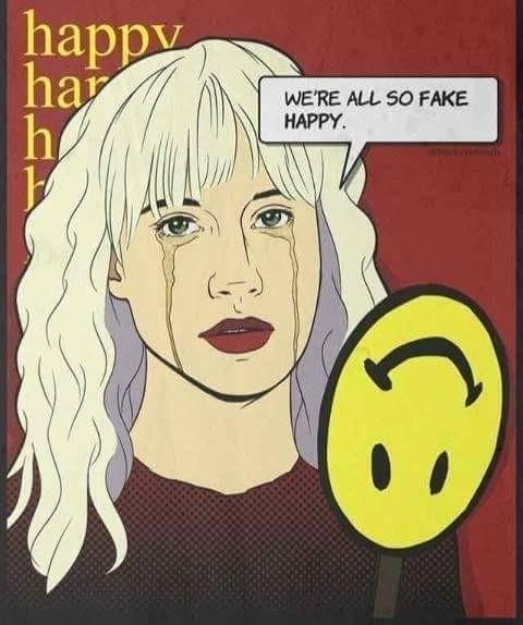 Fake Happy - miikeam | ello