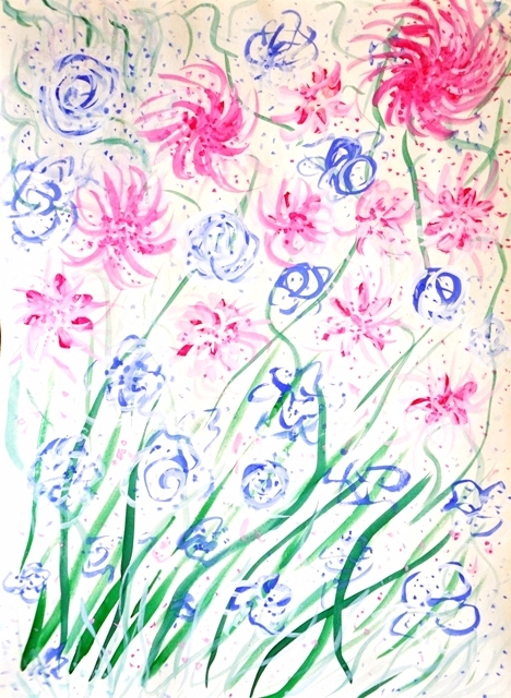 Yiu Цветы. это мой самый первый - olgapetrenko | ello