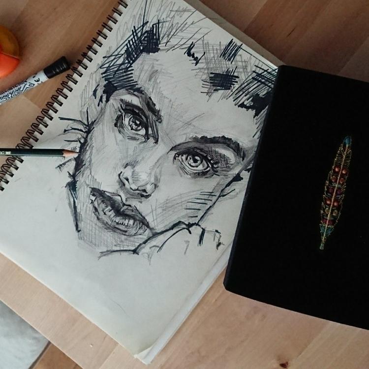 :pencil2:️ Doctor Insta - drawing - major_town | ello