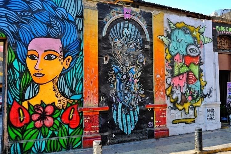 Es gibt viel tolle Straßenkunst - weltfarben | ello