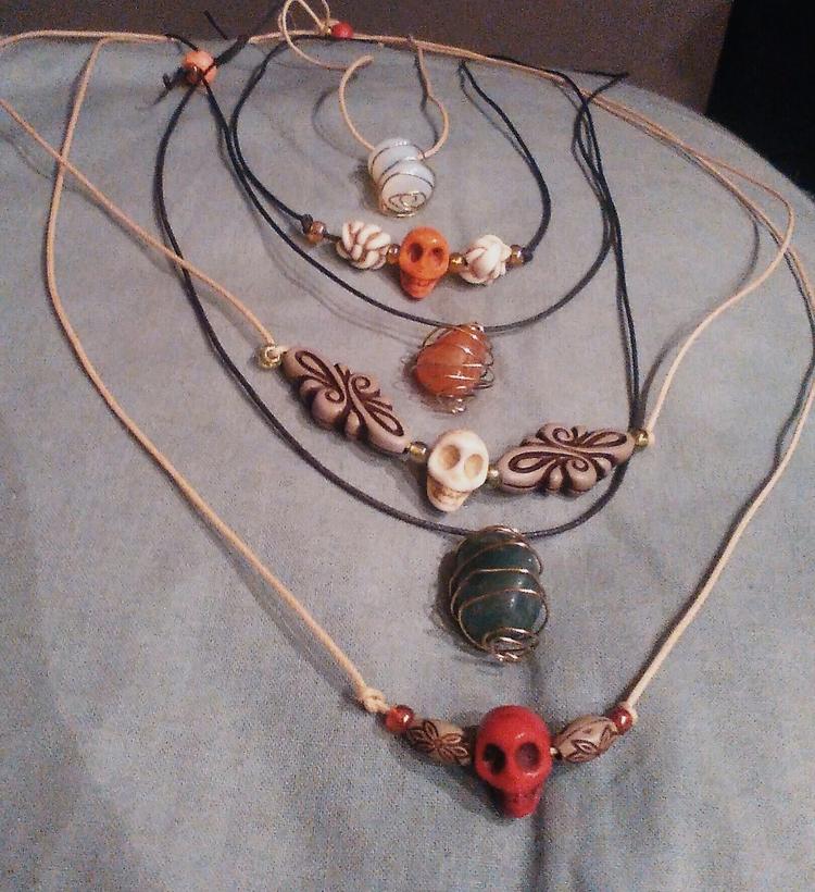 finished making jewellery today - ruthohaganartist   ello