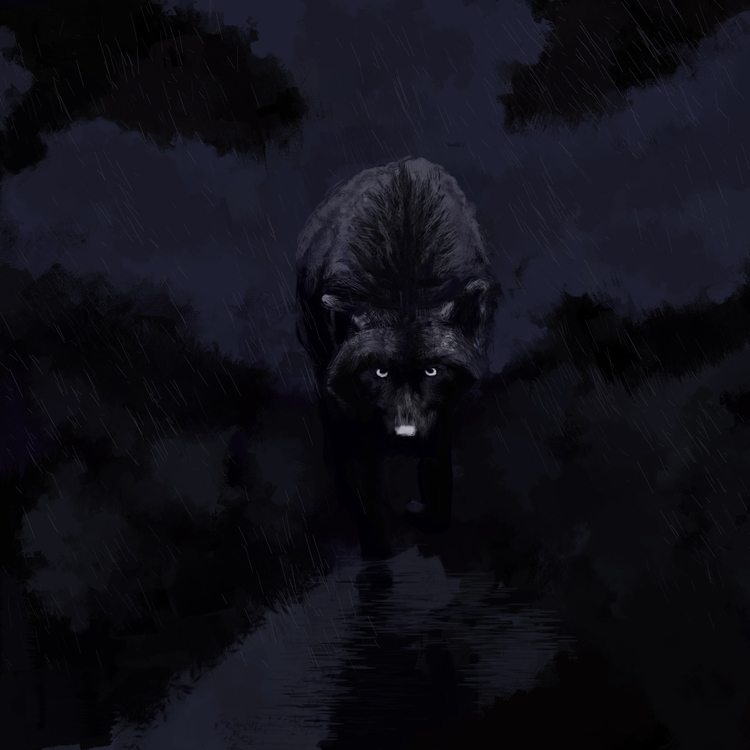 Wolf - Digital, 2DCharacters,, Illustration - bradyrain | ello