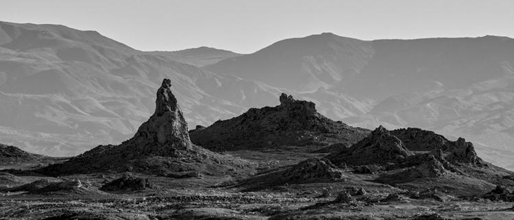 peak, Trona Pinnacles, Californ - frankfosterphotography | ello