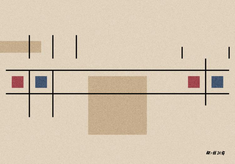 composition-30 - art, contemporary - gfgalli | ello