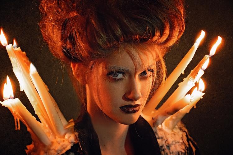 """Enchantress"" — Photographer: C - darkbeautymag | ello"