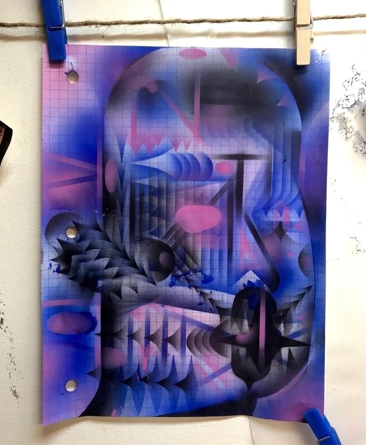 10x8 - acrylic paper - rhardgrave | ello