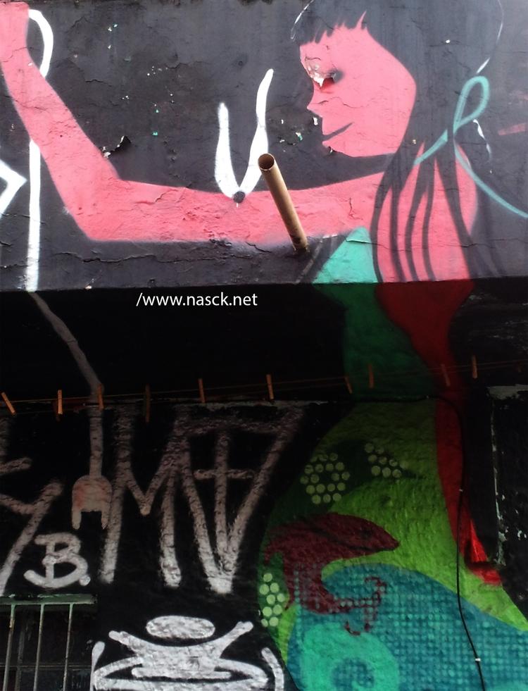 graffiti, grafite, ruassp, streetart - nasck | ello