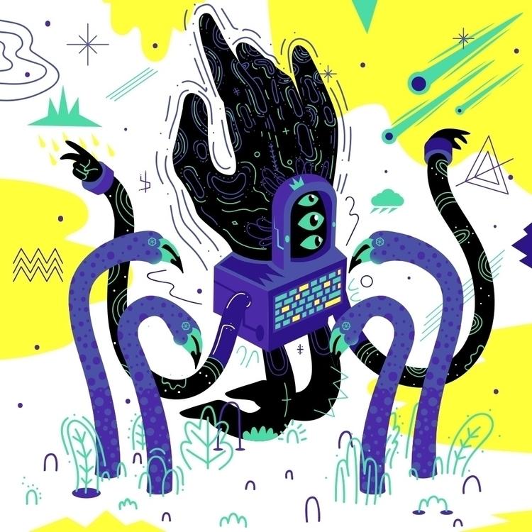 Paul  - illustration, digitalart - galekto | ello