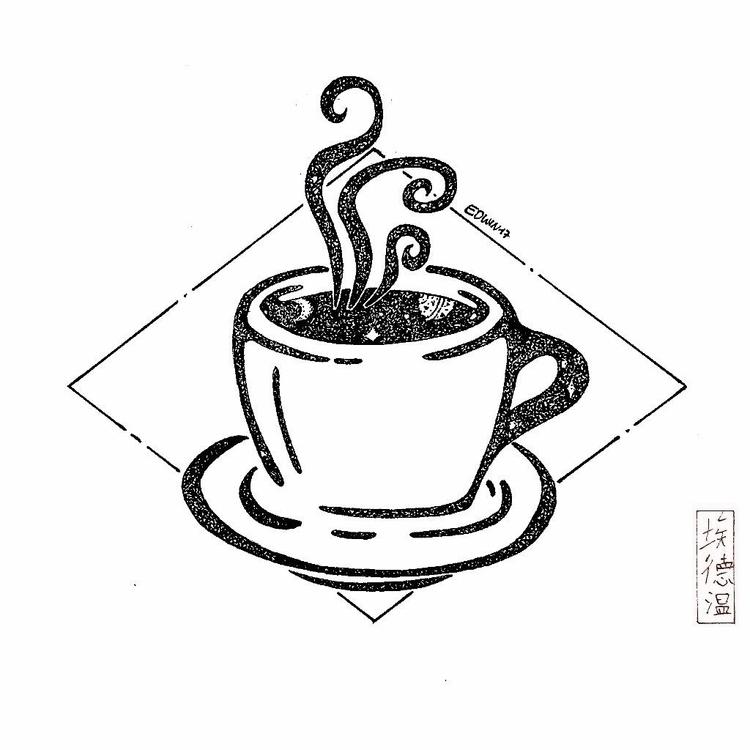 Coffee dreamjuice(34) find - draweveryday - edwln   ello