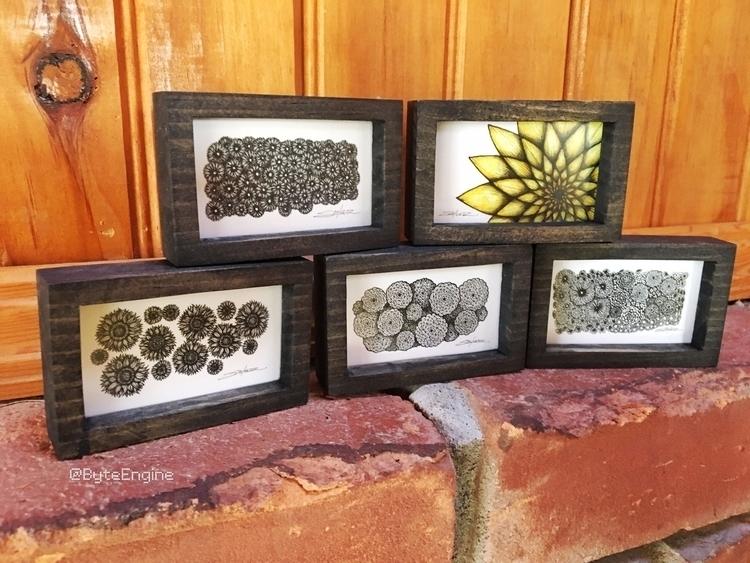 framed pieces art, ready '5 art - byteengine | ello