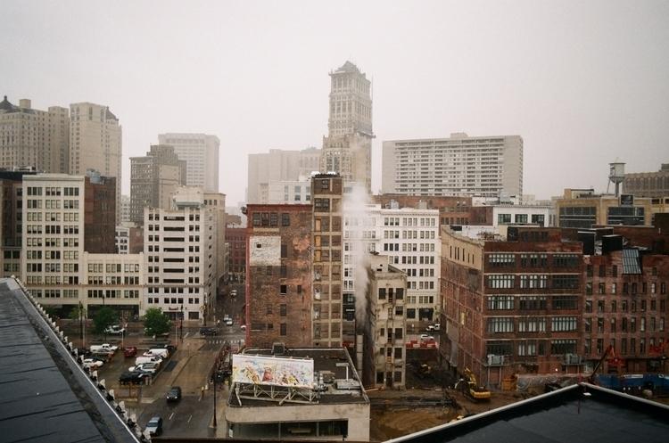 Film photograph Downtown skylin - markthehall   ello