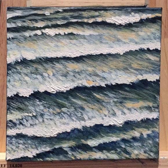 Serie Marés, 2017 - painting, acrylic - elmafra | ello