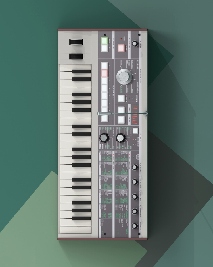 3D Modeled Synthesizers Audio E - ericsmilde | ello