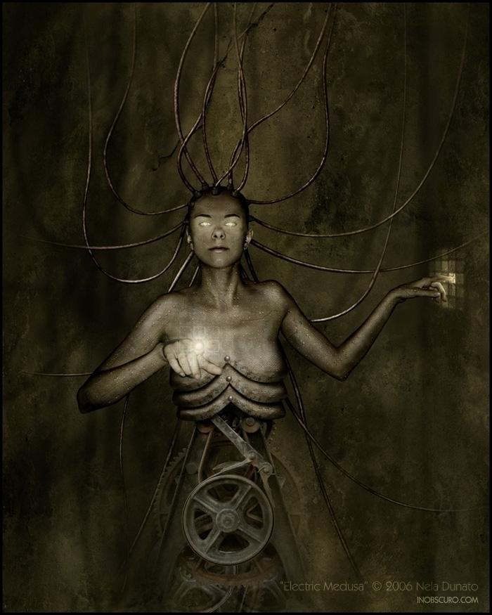 Electric Medusa, 2006 Media: Ph - neladunato | ello