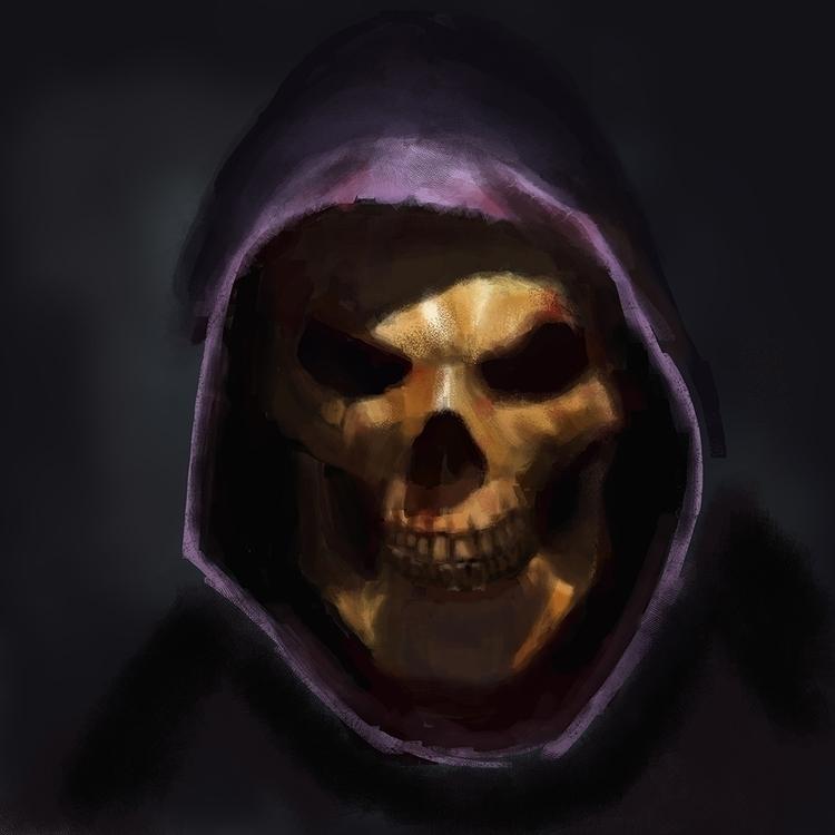 horror, painting, Art, art, atm - bradyrain | ello