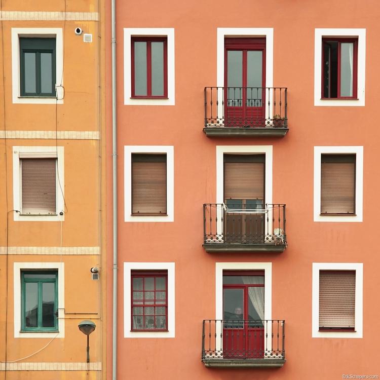 Windows Autumn Bilbao - color, minimal - erik_schepers | ello