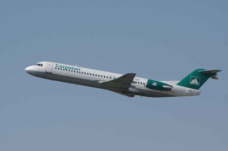 Carpatair, Fokker 100, Düsseldo - brummi | ello