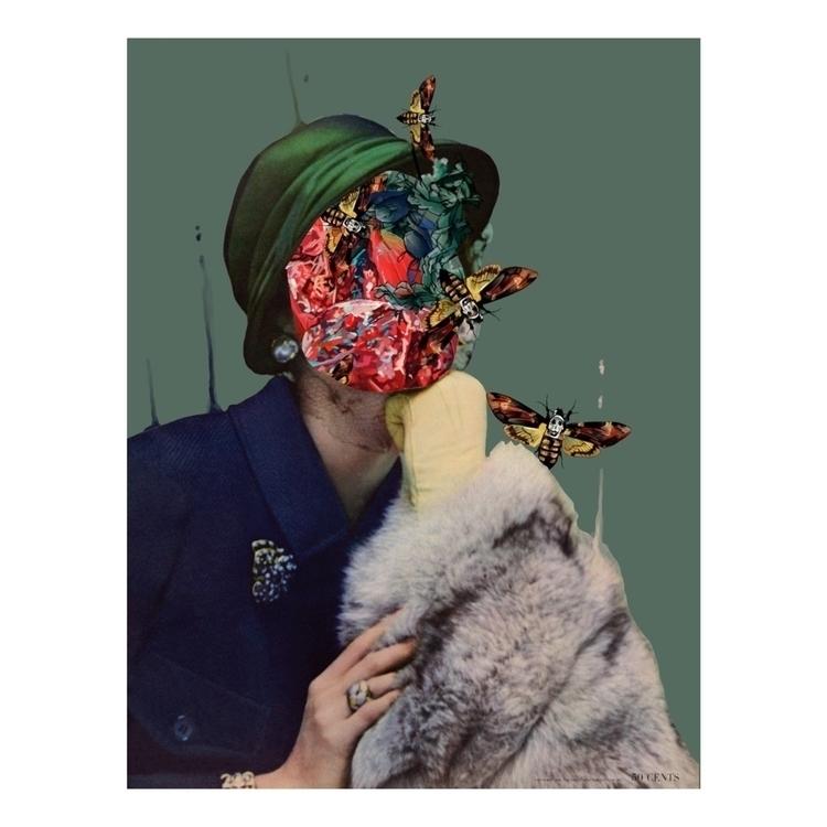 Vogue Nature 1/3 Collage digita - fmonroyr | ello