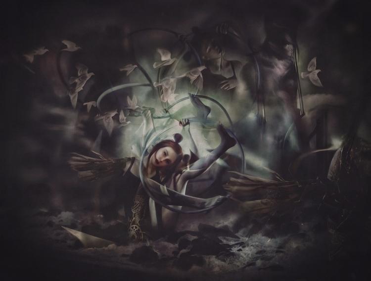 Enigma: Promised Land - illustration - katerinazagustina | ello