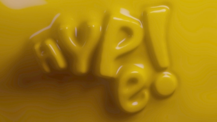 Hype - cinema4d, hype, yellow - tahacy | ello