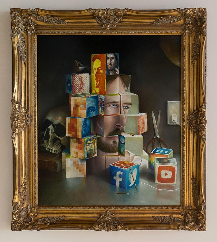 Digital Bones - Selfie - jacksart | ello