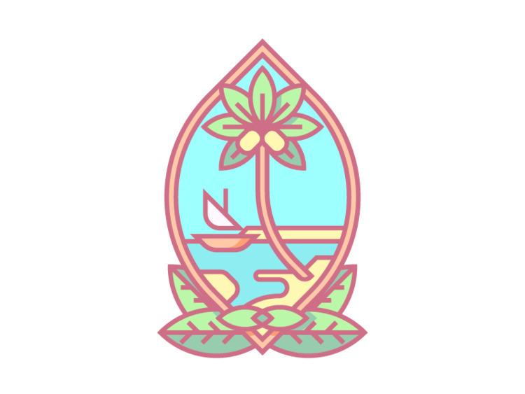 Guam Crest (273/365 - darumacreative | ello
