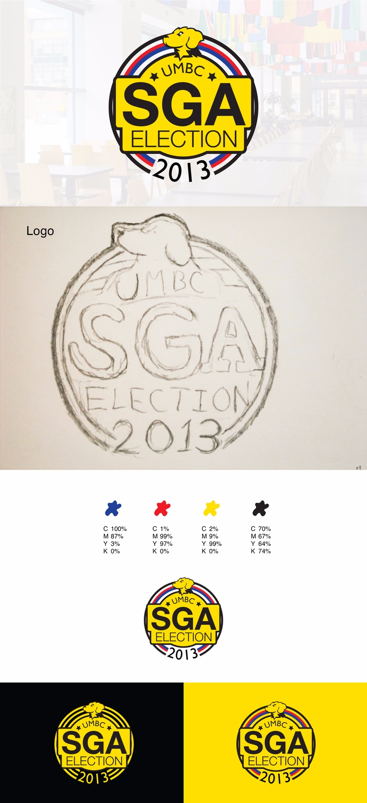 logo design UMBC SGA Election B - jaslee-3873 | ello