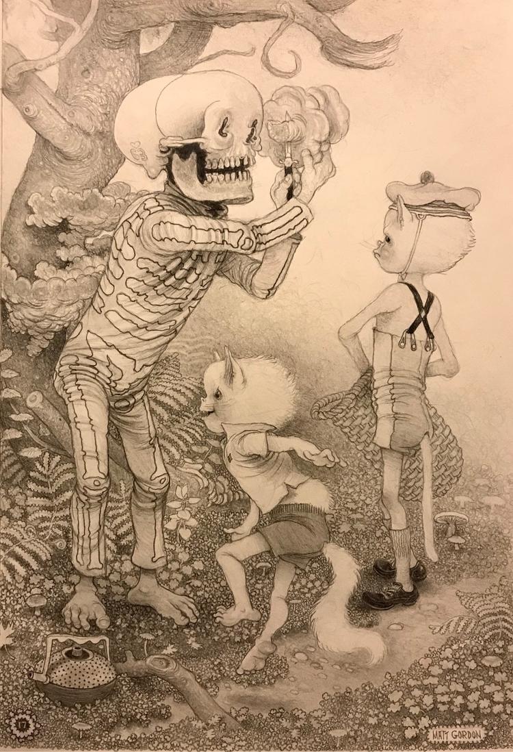Wise daily wild~ graphite moles - _mattgordon_   ello