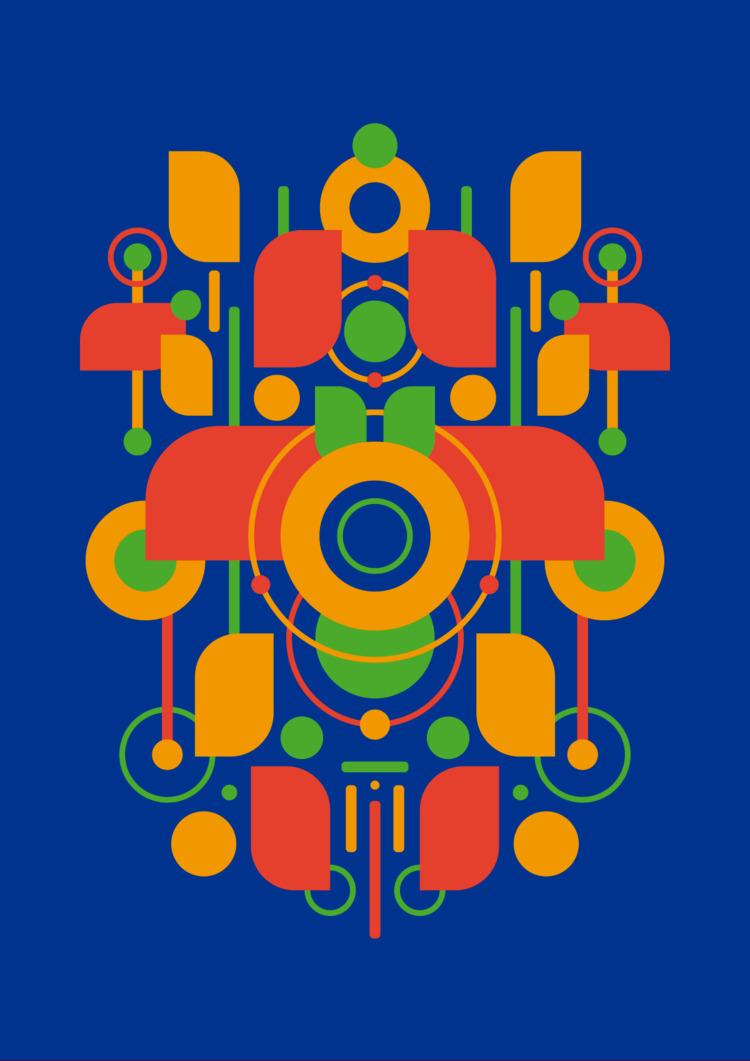 Hansha - poster, illustration, vector - vissotto | ello