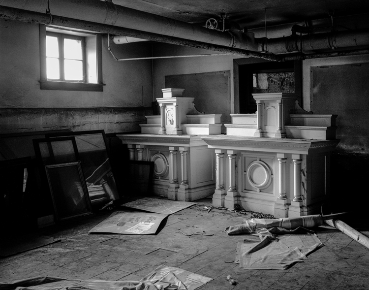 altarpieces, Foley Hall (razed - frankfosterphotography | ello