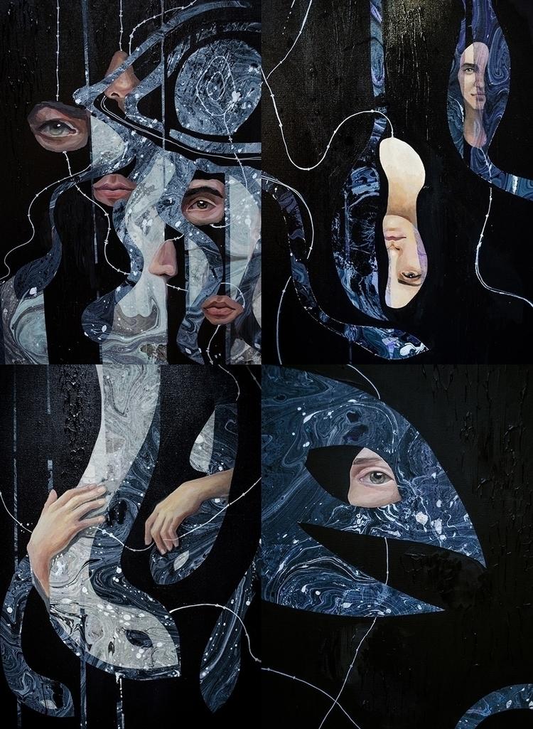 Nocturnal Limbo. Artwork 4 piec - kategoltseva | ello