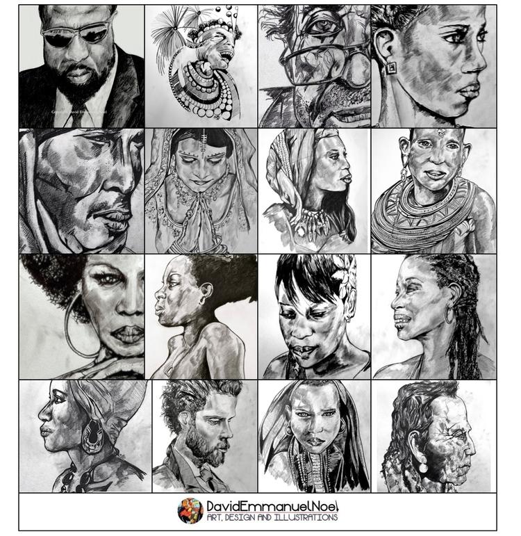 pencil, drawings, sketches, cartoons - davidenoel | ello
