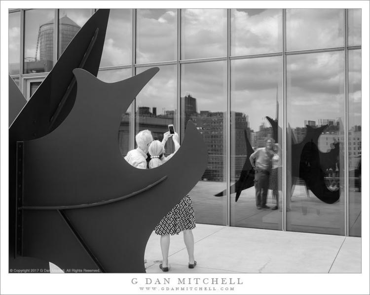 Photograph day: Selfie, Reflect - gdanmitchell | ello