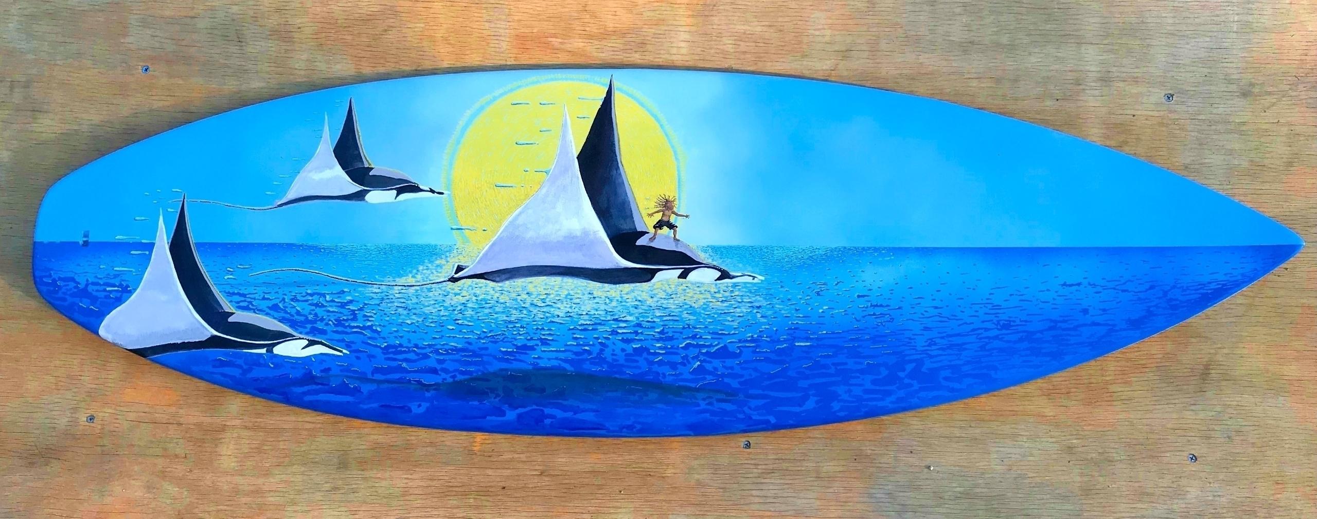 Ello - finished piece, Aqua Boy - garyadler   ello