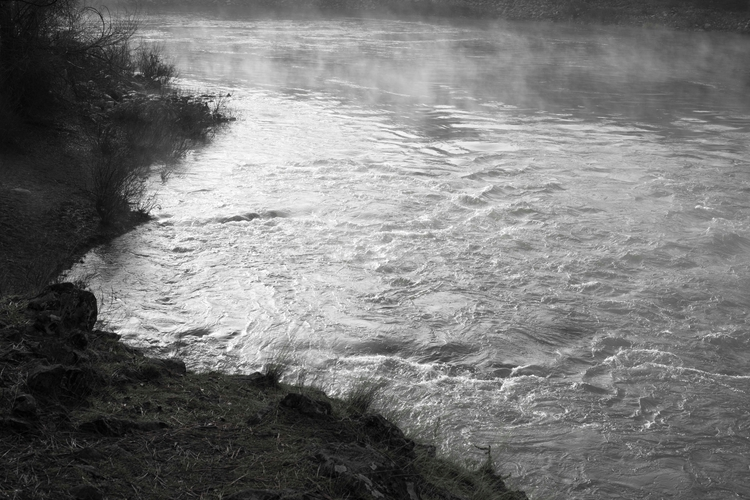 River - Spokane, Washington, Fog - usnrmustang | ello